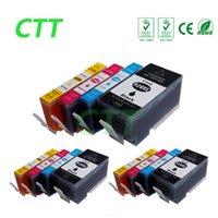 Wholesale Compatible Format - CTT 12pcs 920XL ink cartridges Compatible For HP920 6000 6500 7000 6500a 7500a 6500 Wireless 7000a 7000se 7000 Wide Format Printer
