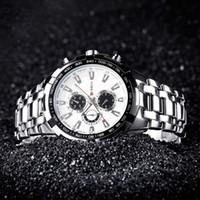 Wholesale Digital Watches For Sale - Hot Sale!CURREN 8023 Men Watches Top Brand Luxury Men Military Wrist Watches Full Steel Men Sports Watch Relogio Free for Regulator