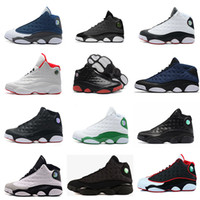 High Quality Retro 13 Chicago dpm Bred Basketball Shoes men 13s Black Cat Он получил игру Flint Playoffs Hyper Pink Sneakers With Box