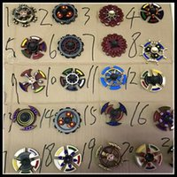 Wholesale Skeleton Tips - Double Bearings Fidget Spinner Triangle Axe Skeleton Metal Handspinner Dual spin edc toys EDC Decompression Kids and Adults Finger Tips Tops