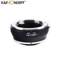 Wholesale Fuji X Pro1 - Wholesale- K&F CONCEPT MD-FX Lens Adapter Minolta MD Mount lens for Fujifilm Fuji X-Pro1 X Pro 1 Camera Adapter Ring Free Shipping