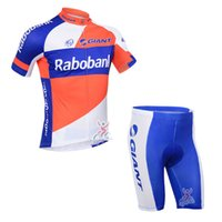 Wholesale Rabobank Pants - Rabobank team Summer Cycling Jerseys Ropa Ciclismo Breathable Bike Clothing Quick-Dry Bicycle Sportwear GEL Pad Bike Bib Pants A78