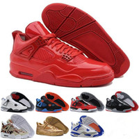 Wholesale Zapatillas Basket - [With Box]Newest Top Quality Basketball Shoes Retro 4s Sports Sneakers Men 2017 Zapatillas Authentic Real Replicas Basket Ball Retro 4