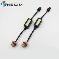 Wholesale Led Lights Load Resistor - 7441 7443 7444 T20 LED bulbs for turn signal light Warning Error Canceller Load Resistor Hyper Flash Decoder
