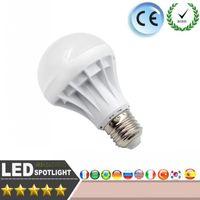 Wholesale 5led 5w - LED light Bulb E27 5730SMD AC220V 5W 7W 15W Led lampadas led bulb light Energy saving 5led 9led White Warm White Bedroom lighting