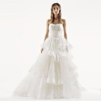 Wholesale Amazing Wedding Dress Sweetheart Tulle - Amazing 2017 Wedding Dresses Ball Gown Sweetheart Layer Skirt Tulle Ruched Bodice with Applqies Bridal dresses custom made VW351197