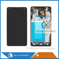 Wholesale E975 Screen - For LG Optimus G E975 LS970 E973 LCD Display+Touch Screen No Frame Or With Frame Assembly