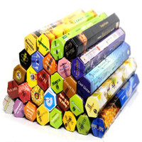 Wholesale incenses sticks resale online - 1 Box Handmade Darshan Incense Stick Incense Incense Sticks Multiple Fragrance Home Decor Fragrance Lamps Hot