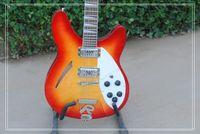 pastillas de guitarra oem string al por mayor-Sunburst 2 pastillas de alta calidad 12 cuerdas de la guitarra eléctrica del OEM disponible Musical superior al por mayor de instrumentos