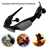 Wholesale bluetooth for glasses for sale - Group buy Smart Glasses Bluetooth V4 Sunglass Sun Glass Sports Headset MP3 Player Bluetooth Phone Wireless Earphones Bluetooth Eyeglasses