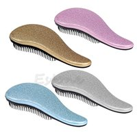 Vente en gros - Magic Handle Tangle Détendeur Peigne Douche Cheveux Brush Salon Styling Tamer Hot