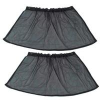 ingrosso tendalino automatico ombrellone-Tendina parasole per protezione UV con tendina parasole auto nera con ventosa