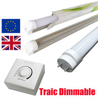 Traic dimmable tube led 4 pieds G13 base Tube ampoules 4FT 18W 22W AC110V ou AC220V Dimmer control led tube t8 18W SCR