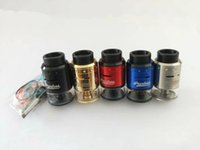 Wholesale Fit Hinges - Geekvape Peerless RDTA Tank Clone 4ML Upgraded Build Deck fit Both Small Coils and Large Coils 510 Drip Tip Hinge-lock filling System