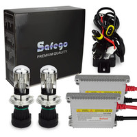 Wholesale Bi Xenon Replacement Ballast - DC 35W H4 bi-xenon HID Conversion Kit Replacement Kit 4300K-1200K Auto Car Headlights Bi Xenon Kit with Wire Harness Ballast