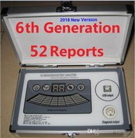 Wholesale Reporting Software - 2018 New 6th Generation 52 Comparative Reports with 6-core Quantum Magnetic Resonance Analyzer DHL Free Shipping in Real Version Software