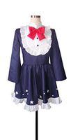anime hexe cosplay großhandel-Kukucos Anime DATE A LIVE Yoshino Halloween Hexe Uniform Lolita Nizza Kleid Cosplay Kostüm Classic Lila