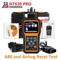 Foxwell NT630 Pro ABS SRS Airbag Airbag Crash Data Reset Scan Tool Anti Lock Frein OBD2 Automotive Scanner