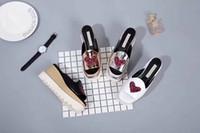 Wholesale Heart Shape Slippers - Stella Mccartney Slippers Heart-shaped 2017 New Arrivals Elyse Platform Sandals Shoes Wedges