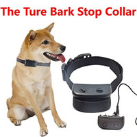 Wasserdichte Haustier Hund Anti Bark No Bark Stop Barking Kragen Training Control Shock Collar