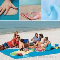 Wholesale Mat Camp - 200*200cm Sand Free Magic Beach Mat Camping Mat Outdoor Picnic Mattress Cushion For Camping Home Garden Portable 100pcs OOA2039