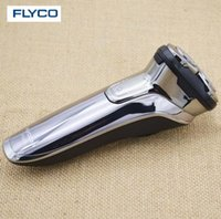 Wholesale Electric Charge Knife - FLYCO body wash electric razor LED display men's USB car rechargeable 1 hour fast charge shaving knife FS378