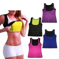 Wholesale Plus Size Workout Clothing - Waist Corsets Vest Plus Size Slimming Body Shaper Workout Waist Shapewear Women Clothes Neoprene Body Shaper Slimming Waist Slim Belt Vest