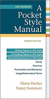 Wholesale Electronics Books - 2017 NEW A Pocket Style Manual, APA Version 7th Edition (ISBN-13: 978-1319011130) Plenty In Stock! Good Selling Book