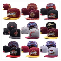 2017 Cleveland ajustable Snapback Hat Milliers Snap Back Hat For Men Bonnet de basket Bonnet bon marché Hommes ajustables casquette de baseball