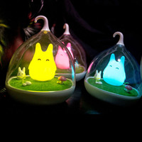 Wholesale cartoon birdcage online - Creative Cute Birdcage LED Children Kids Baby Night Light Lamp Rechargeable Bird Cage Night Light with Touch Dimmer ZJ0258
