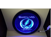 Wholesale Wireless Led Bar Lights - b247 Grateful Dead RGB led MultiColor wireless control beer bar pub club neon light sign Special gift