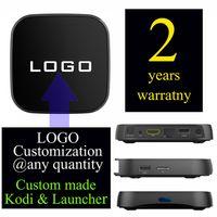 Wholesale Custom Lan - 10pcs Custom Made T95Rpro-2GB 16GB Smart Android6.0 Marshmallow IPTV TV boxes 4K S912 Octa core 5G WIFI 1000MB Lan