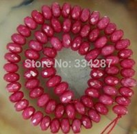 frete grátis natural bonito Jóias NOVO 1 Strand Wholesale Natural 6x8mm Facted Brazilian Abacus Loose Bead 14.5