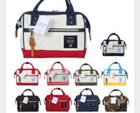 Wholesale Kawaii School Bags - Anello 2way shoulder bag Kawaii Canvas Shoulder Crossbody Bag Postman Handbag Campus School bag