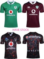 Wholesale Heat Jerseys - Free shipping!NRL National Rugby League Ireland Country 2016-17 new jersey (team logo stitched!!!) High-temperature heat transfer printing