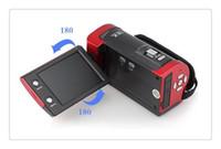 полный hd видеокамеры cmos оптовых-Full HD 1080P 16MP C6 видео 16X цифровой зум камеры видеокамеры 2.7-дюймовый TFT-рекордер со вспышкой видео DV рекордер видеокамеры DVR