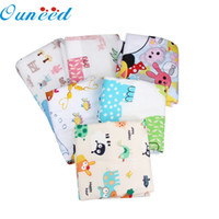 Discount pink animal print bedding - Wholesale- Zero Children Kartoon Waterproof Mattress Sheet Bedding Diaper Changing Pad