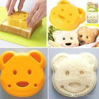 Wholesale Dog Mold Mould - Sandwich Mold Cutter Bear Car Dog Teris Shape Cake Bread Toast Mould Maker Free Shipping