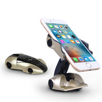 Wholesale iphone bluetooth mouse - Universal mobile phone holder stand windshield car mount holder 360 Rotating mouse shape for Iphone 5s 6 6s galaxy s4 s5 s6 s7