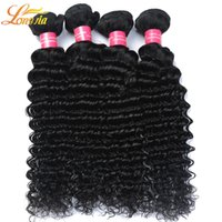 Barato Onda Profunda Para Barato-Cheap Brazilian Brazilian Hair Weave Grade 7A Bundle Deals, Cabelo Brizilian Deep Ondulado, Longjia Hair Products Deep Wave Brazillian Hair100g / pcs