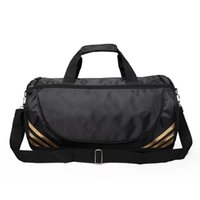 Wholesale fashion black large compartment duffle bag gym sport bag sports travel duffle tote bags for gym