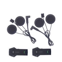 Écouteur doux! FM! 2 PCS 800 M casque intercom Moto Interphone BT Interphone Sans Fil Moto bluetooth Casque Casque