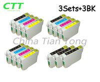 Wholesale Sx125 Ink Cartridges For Epson - CTT 15 Ink Cartridges T1281 Compatible for T1282 T1283 T1284 Epson Stylus S22 SX125 SX130 SX230 SX235W SX420W SX425W SX430 SX438 SX438W