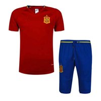 Full spanish clothes - The latest best sportswear Spanish short sleeved shirts football clothes stylish jerseys running football jerseys free ship