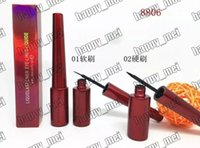 Wholesale free pencil box - Factory Direct DHL Free Shipping New Makeup Eye Red Box M8806 Liquide Eyeliner!6ml