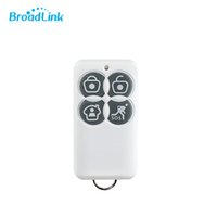 Wholesale 433mhz alarm - Wholesale-2016 New Arrival Smart Broadlink Wireless 433Mhz Key Fob Remote For S1 S1C SmartONE Home Alarm SOS Security