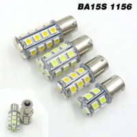 BA15S 1156 1141 High Bright Car Boat Светодиодная лампа 2W 3W 4W 5W 13/18/24/30 5050 SMD LED AC / DC12V 24V 28V White / Warm (комплект из 2)