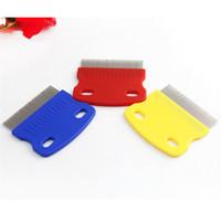 Wholesale Metal Comb Dog - Pet Dog Cat Clean Comb Metal Lice Comb Small Pet Nit Lice Comb
