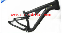 Wholesale Bike Frames Mountain Suspension - Free Shipping full suspension 29er carbon frame carbon MTB frameset mtb carbon mountain bike frame 29er Shock proof frame