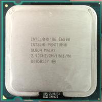 Wholesale Desktop Cpu 775 Socket - Original used cpu Intel Pentium Dual-Core E6500 CPU E6500K Processor 2.933Ghz 2M 1066GHz Socket 775 pin (working 100% Free Shipping)